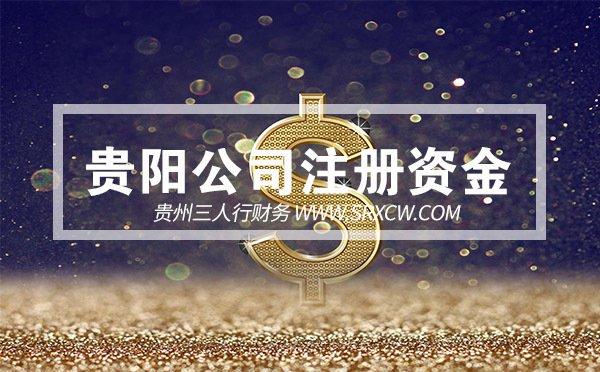 贵阳公司注册资金