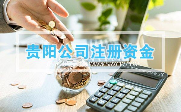 贵阳公司的注册资金如何填写?